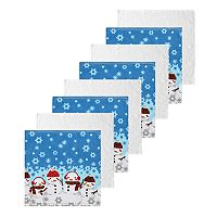 The Big One® Snowman Dishcloth 8-pk.