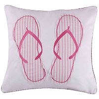 Marley Flip Flops Throw Pillow