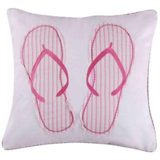 Marley Flip Flops Throw Pillow