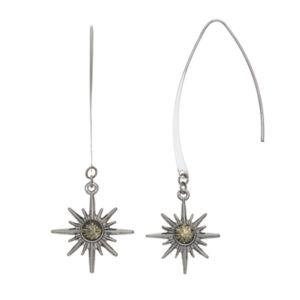 Simply Vera Vera Wang Nickel Free Starburst Threader Earrings