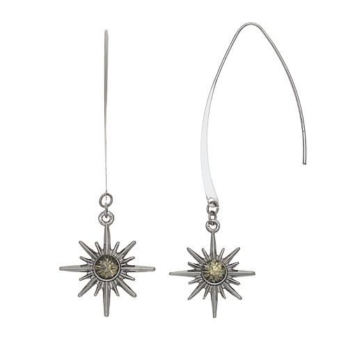 Simply Vera Vera Wang Starburst Threader Earrings