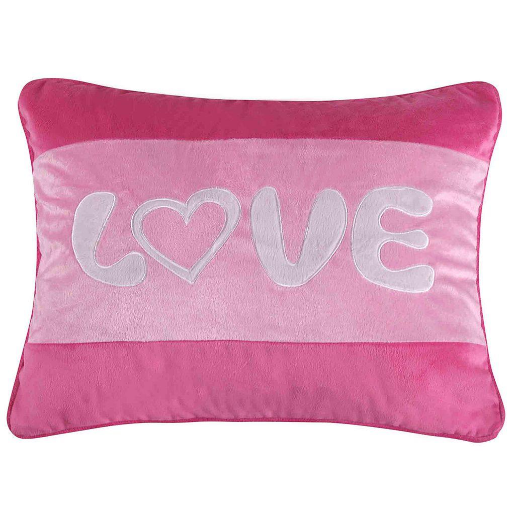 Marley Love Throw Pillow