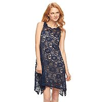 Women's Bethany Paisley Lace Shift Dress