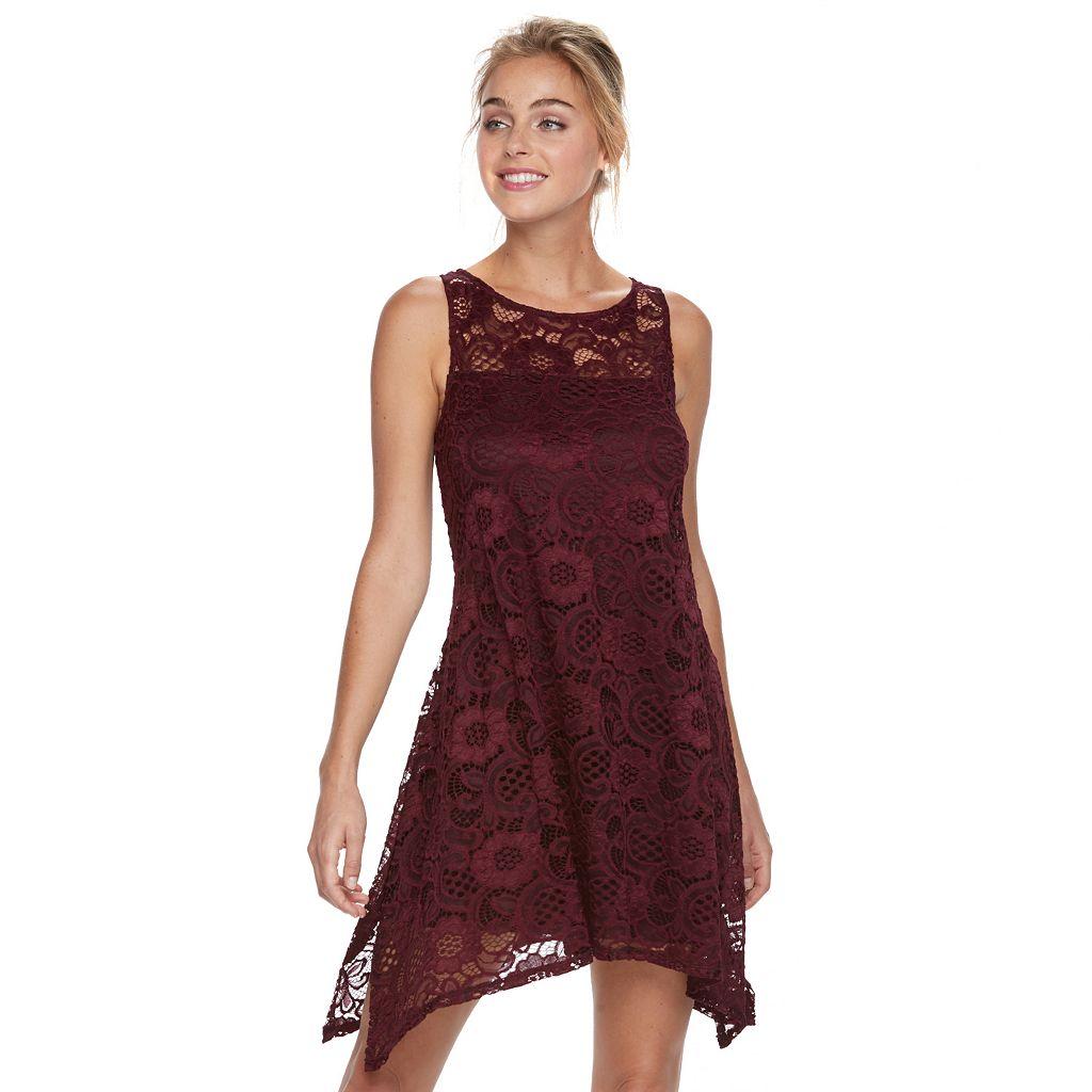 Women's Bethany Paisley Lace Shift Dress