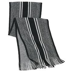 Men's Apt. 9® Striped Marled Raschel Scarf