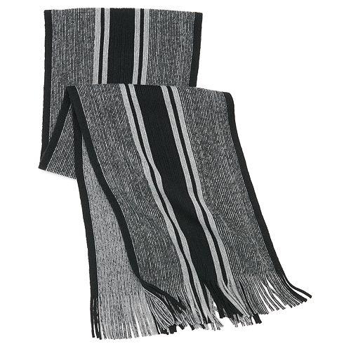 Men's Apt. 9® Striped Marled Raschel Scarf