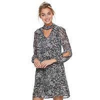 Women's Bethany Lace Print Shift Dress