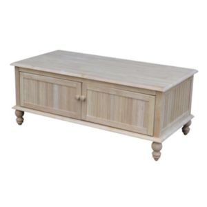International Concepts Cottage Storage Coffee Table