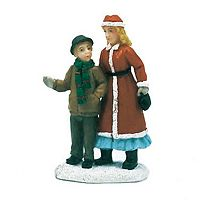 St. Nicholas Square® Village Double Figurines