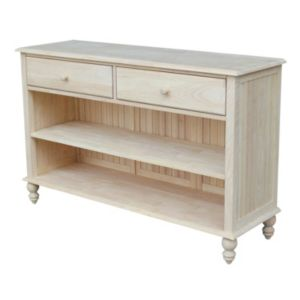 International Concepts Cottage Console Table
