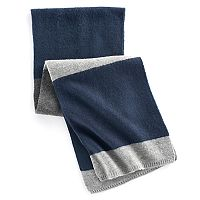 Men's Apt. 9® Colorblock Brushed Knit Scarf
