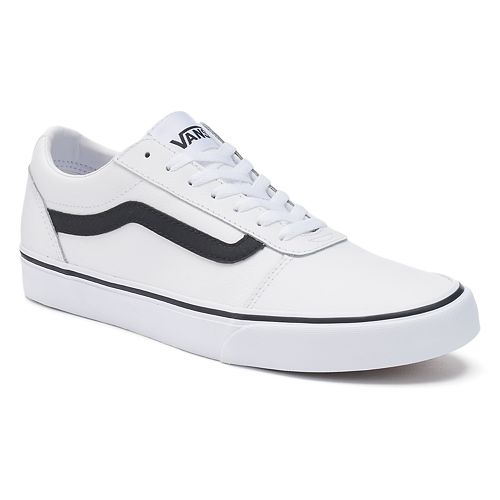 e8695668975107 Vans Ward Men s Leather Skate Shoes