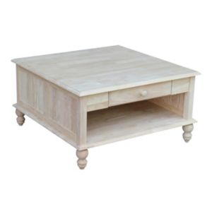 International Concepts Cottage Square Coffee Table