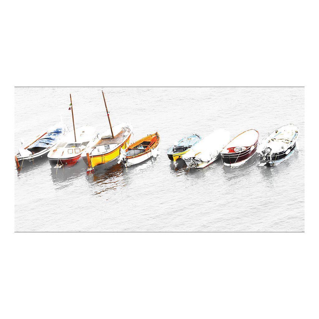 8 Whitewater Boats Italia Canvas Wall Art