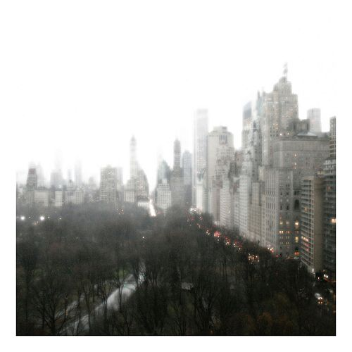 Above Central Park Canvas Wall Art