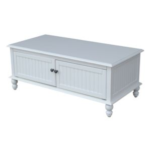 International Concepts Cottage White Coffee Table