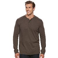 Big & Tall Croft & Barrow® Classic-Fit Stretch Henley