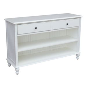 International Concepts Cottage White Console Table