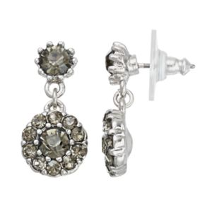 Simply Vera Vera Wang Nickel Free Faceted Stone Double Drop Earrings