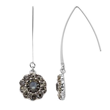Simply Vera Vera Wang Halo Nickel Free Threader Earrings