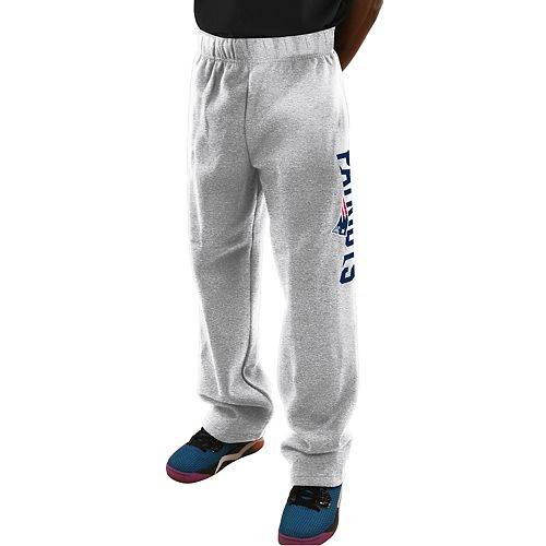 Big & Tall Majestic New England Patriots Critical Victory Fleece Sweatpants