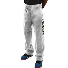 Big & Tall Majestic Baltimore Ravens Critical Victory Fleece Sweatpants