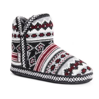Women's MUK LUKS Amira Knit Bootie Slippers
