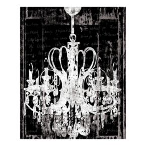 Chandelier 3 Canvas Wall Art