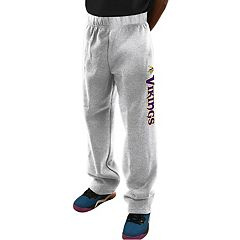 Big & Tall Majestic Minnesota Vikings Critical Victory Fleece Sweatpants