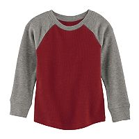 Toddler Boy Jumping Beans® Thermal Raglan Tee