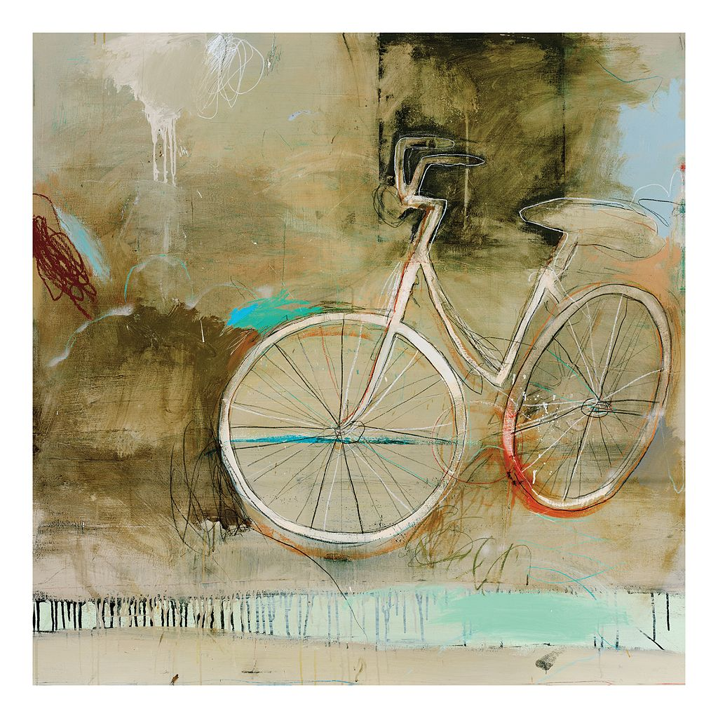 Cozy Bike Canvas Wall Art