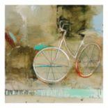 Cozy Bike Canvas Wall Art