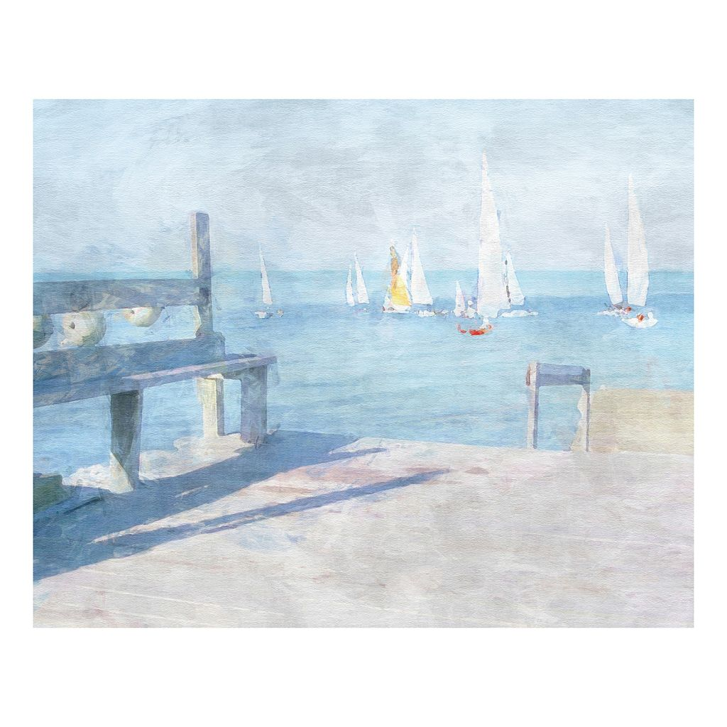 Dockside View Canvas Wall Art