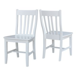 International Concepts Cafe Dining Chair 2-piece Set