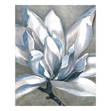 Essence Of Blue Canvas Wall Art