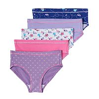 Girls 4-16 Hanes 5 pkTagless Stretchy Briefs