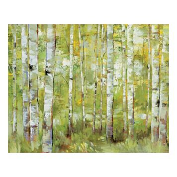 Essence Of Green Canvas Wall Art