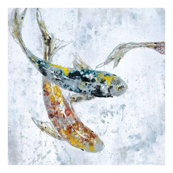 Fish II Canvas Wall Art
