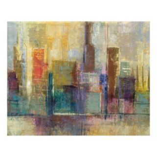 Forty Second Avenue Canvas Wall Art