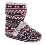 Women's MUK LUKS Scrunchy Boot Slippers