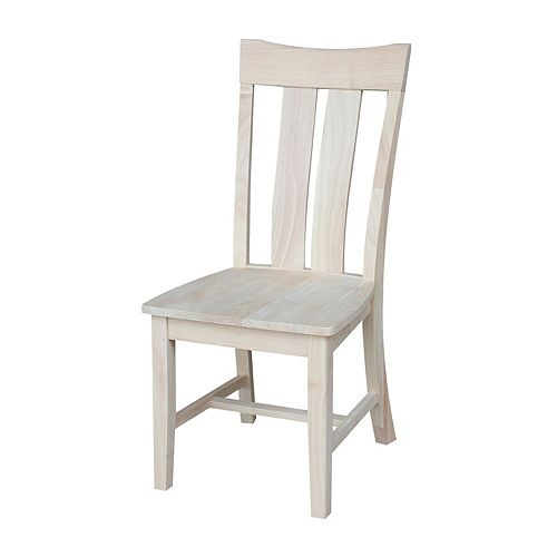 International Concepts Ava Dining Chair 2-piece Set
