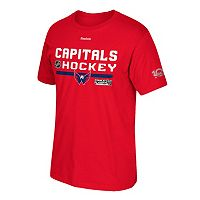 Men's Reebok Washington Capitals 2017 Stanley Cup Playoffs Center Ice Tee
