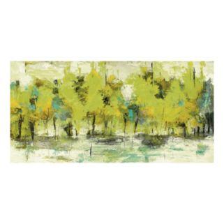 Linear Dusk Spring Canvas Wall Art