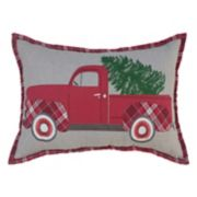 St. Nicholas Square® Truck Oblong Throw Pillow
