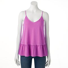Women's SONOMA Goods for Life™ Peplum Camisole