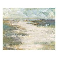 Misty Coast Canvas Wall Art