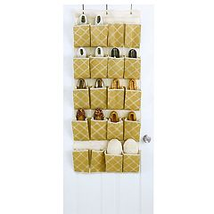 Macbeth ClosetCandie 20-Pocket Over-The-Door Shoe Organizer