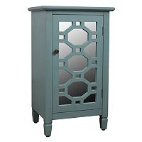 Decor Therapy Mirrored Storage Cabinet