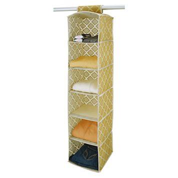 Macbeth ClosetCandie 6-Shelf Closet Organizer