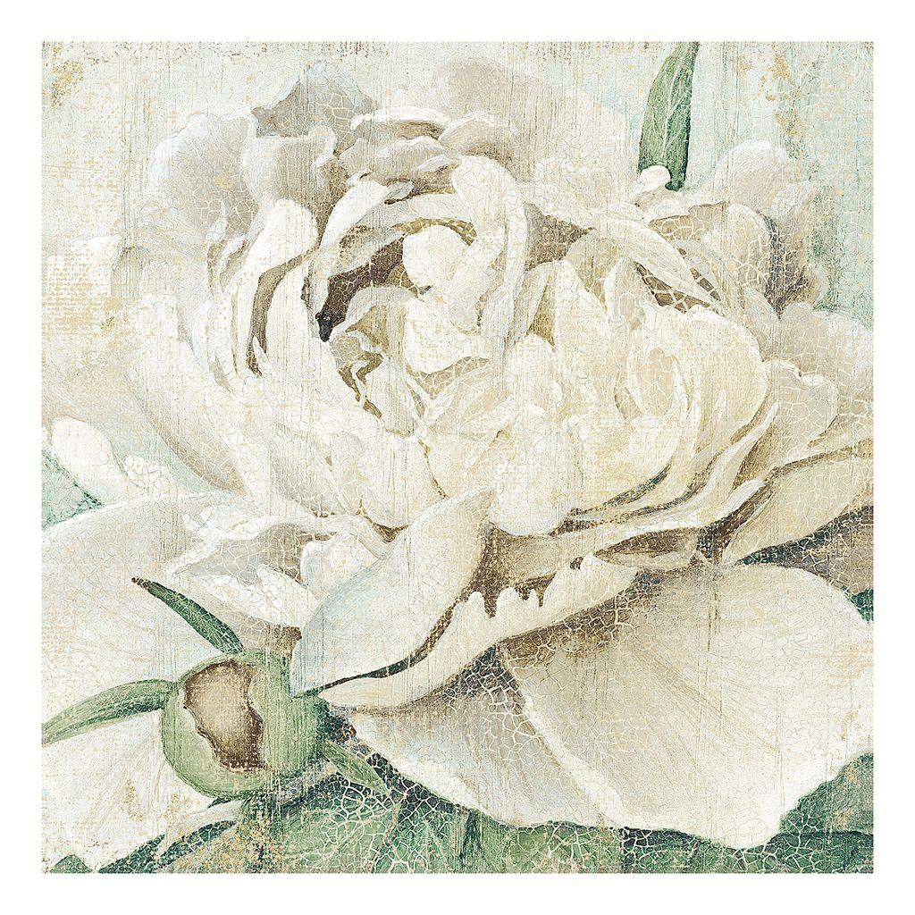 Quiet Petals II Canvas Wall Art